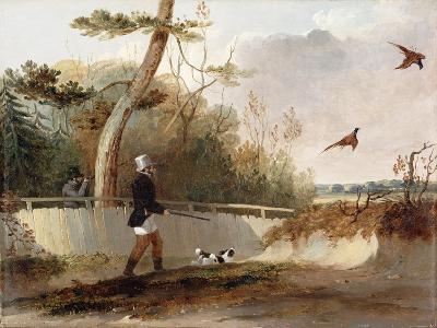 Pheasant Shooting-Samuel John Egbert Jones-Giclee Print