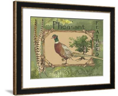 Pheasant-Anita Phillips-Framed Art Print