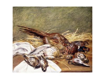 Pheasants, Lesser Bustard and Thrushes, 1902-Pierre-Auguste Renoir-Giclee Print