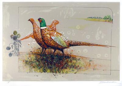 Pheasants-Allan Mardon-Limited Edition