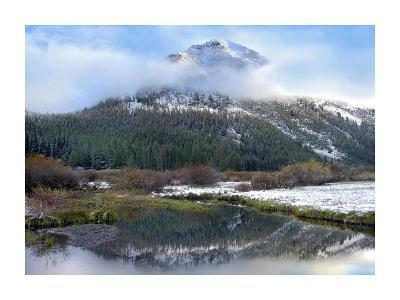 Phi Kappa Mountain and Summit Creek, Idaho-Tim Fitzharris-Art Print