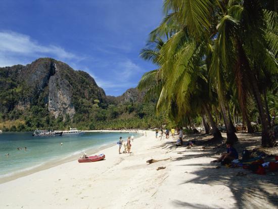 Phi Phi Island, Phuket, Thailand, Southeast Asia-Robert Harding-Photographic Print