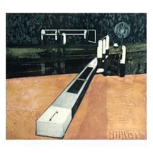 Lock Gates by Phil Greenwood
