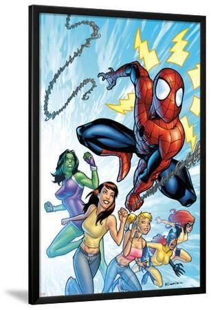 The Amazing Spider-Man No.567 Cover: Spider-Man, Daredevil and Kraven The Hunter