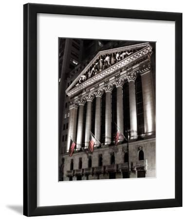 New York Stock Exchange at Night