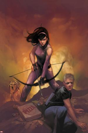 All-New Hawkeye No. 5 Cover Featuring Kate Bishop, Hawkeye by Phil Noto
