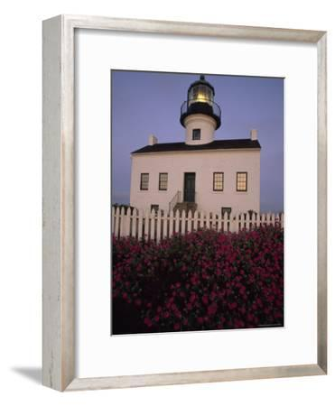 Early Morning Light on Old Point Loma Lighthouse in San Diego, California