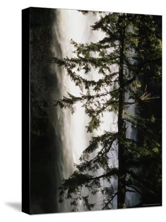 Salt Creek Falls, the Second Highest Waterfall in Oregon, Crescent Lake, Oregon