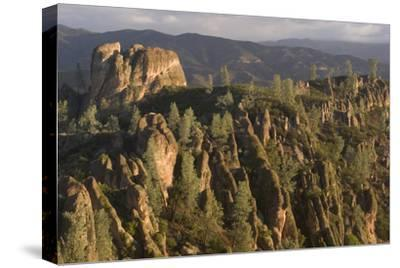 Square Block Rock Formation Along the High Peaks Trail, Pinnacles National Park