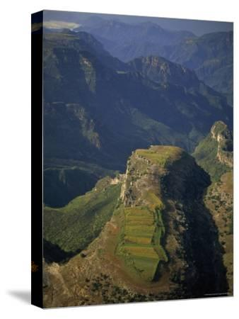 Tarahumara Indian Farm atop a Mountain in the Copper Canyon Region