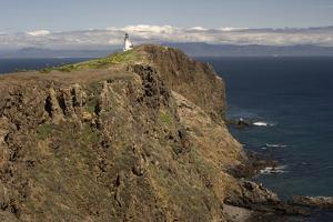 The Anacapa Lighthouse on Anacapa Island in Channel Islands National Park by Phil Schermeister