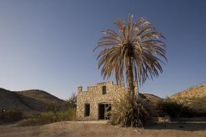 The Old Post Office and Store Near Rio Grande Village in Big Bend National Park, Texas by Phil Schermeister