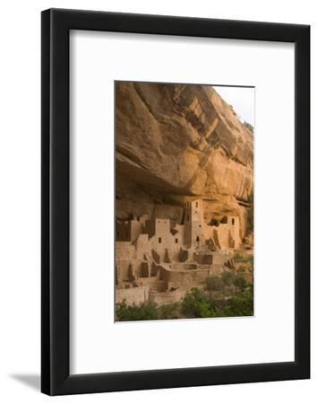 The Ruins of a Cliff Dwelling, Cliff Palace, in Mesa Verde National Park