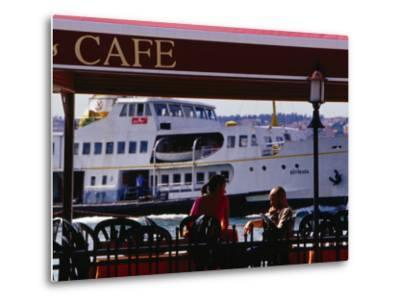 Cafes on Ortakoy Waterfront, Istanbul, Turkey