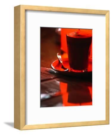 Caffe Latte from Caffe Cartile in Melbourne's Block Arcade, Melbourne, Victoria, Australia