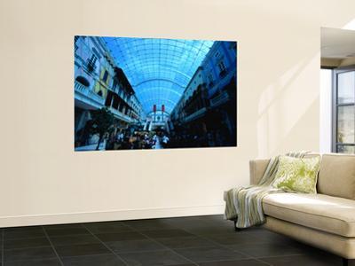 Inside Mercato Shopping Centre
