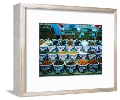 Jars of Pickles in Liubiju Food Shop, Xuanwu District Bejing, China