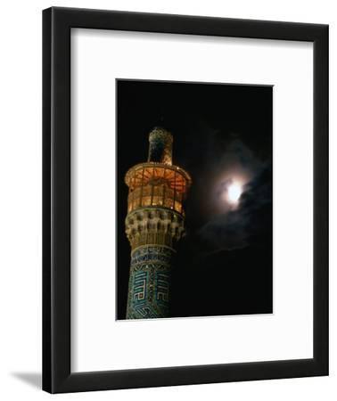 Minarets of Masjed-E Emam in Emam Khomeini Square, Esfahan, Iran