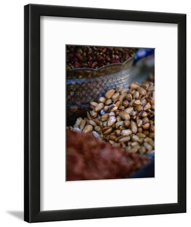 Pistachio Nuts for Sale in Bazaar Shiraz, Fars, Iran