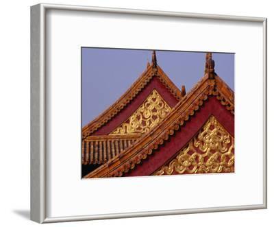 Roof Detail of Beijing's Forbidden City Bejing, China