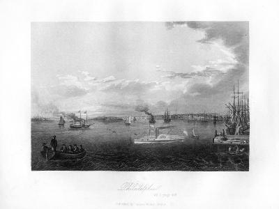 Philadelphia, 1855--Giclee Print