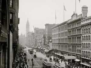 Philadelphia, Pa., Market Street from Eighth