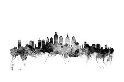 Philadelphia Pennsylvania Skyline-Michael Tompsett-Art Print