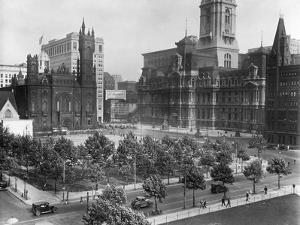Philadelphia's City Hall Plaza