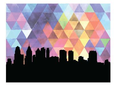 Philadelphia Triangle--Art Print