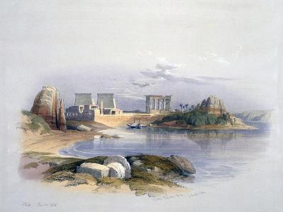 Philae, 1838-David Roberts-Giclee Print