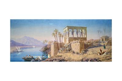 Philae, Egypt, 1863-Charles Emile De Tournemine-Giclee Print