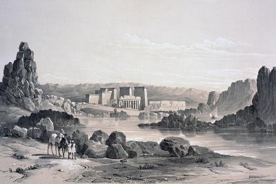 Philae, Looking South, Egypt, 1843-George Moore-Giclee Print