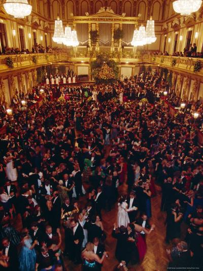 Philharmoniker Ball (Winter Ball), Auersberg Palace, Vienna, Austria-Sylvain Grandadam-Photographic Print