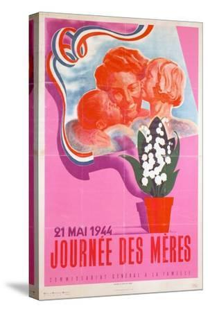 Mother's Day, 21st May 1944, Vichy French Poster, 1944