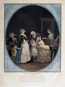 Congratulations on the Grandmother's Name-Day, 1788 by Philibert-Louis Debucourt