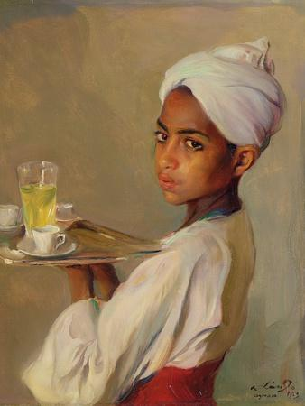 A Nubian Serving Boy, 1929