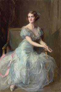 Portrait of Lady Illingworth, 1934 by Philip Alexius De Laszlo