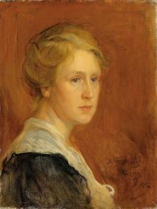 Portrait of Miss Constance Ellen Guinness, 1902 by Philip Alexius De Laszlo