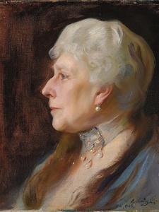 Portrait of Princess Henry of Battenberg (Princess Beatrice of Great Britain), 1926 by Philip Alexius De Laszlo