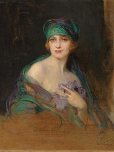 Portrait of Princess Ruspoli, Duchess De Gramont (1888-1976), 1922 by Philip Alexius De Laszlo