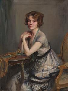 Portrait of Winnie Melville, Mrs, 1920 by Philip Alexius De Laszlo