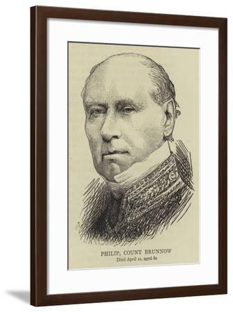 Philip, Count Brunnow--Framed Giclee Print