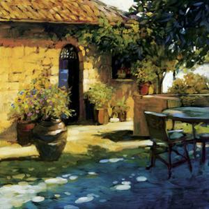 Courtyard Retreat by Philip Craig