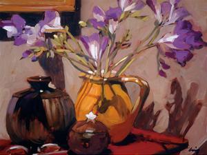 Freesia Floral by Philip Craig
