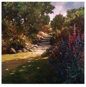 Garden Steps by Philip Craig