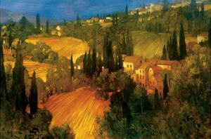 Hillside - Tuscany by Philip Craig