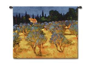 Les Olives en Printemps by Philip Craig