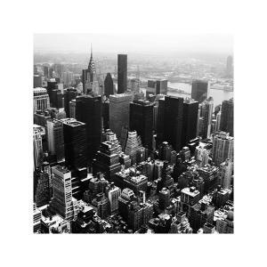 Manhattan and the Hudson by Philip Craig