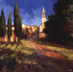 Pathway to the Villa by Philip Craig