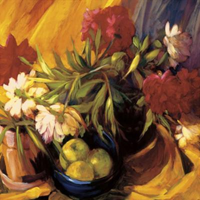 Peonies and Apples